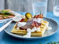 Fantasievolle Snackideen von Friesenkrone - im Handumdrehen umgesetzt wie beim waffeligen Bauernfrühstück.
