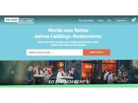 Online Portal PayNowEatLater.de hilft existenzbedrohten Gastronomen die Corona-Krise finanziell zu überstehen. / Bildquelle: #PayNowEatLater