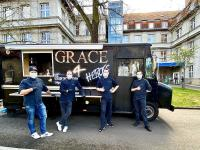 GRACE Team mit Chefkoch Martin Bruhn / Bildquelle: Beide GRACE Restaurant HOTEL ZOO BERLIN