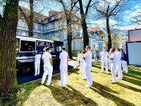 GRACE Food Truck im Sana Klinikum Lichtenberg