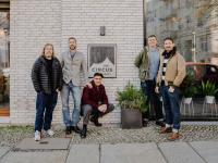 v.l.n.r.: Andreas Digel, Christian Göppert, Andreas Becker, Jim Hadfield, Tilman Hierath / © Gruppenbild: thedudeforfood