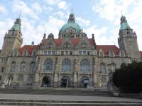 Das Rathaus in Hannover