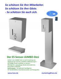 JUMBO-Sensor-Desinfektionsmittel / Bildquelle: Beide LOex LOTZ Exim Trading