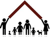 Schönes Sinnbild für den Schutz der Schwächeren