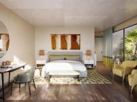 Savoir Vivre pur: Ein Schlafzimmer im Villas Verdura Resort; Bildquelle Rocco Forte Hotels