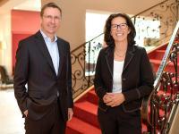 Das Führungsteam des Hotel Gude Eigentümer Ralf Gude und Direktorin Susanne Kiefer / Bildquelle: Hotel Gude