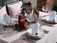 Weihnachtliche Tischwäsche / Bildquelle: Beide Wäschekrone