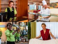 Mitarbeiterinnen und Mitarbeiter in den AHORN Hotels & Resorts / Bildquelle: AHORN Hotels & Resorts