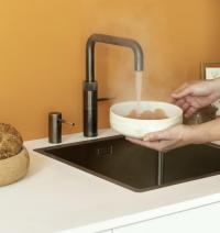 Quooker Fusion Square Messing Patina