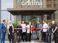 General Manager Katharina Eckardt und ihr Team vom Adina Hotel Cologne /  Bildquelle: Alle Adina Hotels