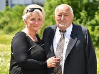 Prof. Hans B. Bauerfeind mit seiner Frau / Bildquelle: © Bauerfeind AG/Andreas Wetzel