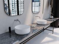 Die neue Waschtisch-Schale Ming überzeugt durch eine makellose glasierte Oberfläche. Ihre Silhouette ist geprägt durch Tradition und Moderne. / Bildquelle: Kaldewei