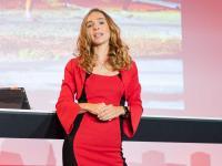 Die Konferenz wurde charmant und souverän gemanagt von Frau Ilka Groenewold