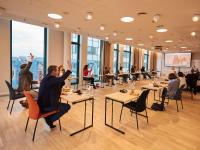 Begleitende Video-Konferenz im Scandic Hamburg Emporio