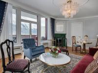 Suite Wohnbereich / Bildquelle: Alle Badrutt´s Palace Hotel