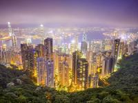 Eine Bildeinwand von Hong Kong im Hotel? Nur wenn es sich z.B. um ein Themenhotel für chinesische Gäste handelt