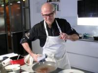 Online-Koch-Event mit Sternekoch Ralf Zacherl; Pressefoto Bildrechte: Ricarda Spiegel