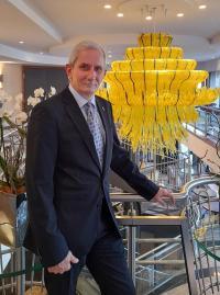 Michael Lehmann übergibt die Leitung des Seaside Park Hotel Leipzig nach über 25 Jahren / © Seaside Park Hotel**** Leipzig