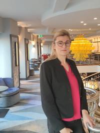 Susanne Punner freut sich auf die neue Verantwortung im Seaside Park Hotel Leipzig / © Seaside Park Hotel**** Leipzig
