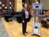 Karina Ansos, General Manager / Bildquelle: Kempinski Hotel Frankfurt