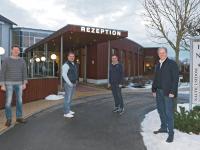 Von links: Harry Bunczek, Walter Neumann, Thomas Wellnitz, Rolf Seelige-Steinhoff / Bildquelle: SEETELHOTELS Usedom