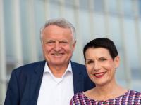 Ute Rieger und Robert Cordes / Bildquelle: © Katrin Höhne