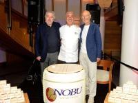 Nobu founders Robert De Niro Nobu Matsuhisa and Meir Teper / © Nobu Hospitality
