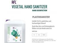 Großgebinde Hand-Desinfektionsmittel mit Aloe Vera; Bildquellen Defeon