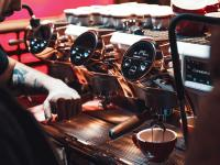 Altair und Gruppo Cimbali stärken das Barista Geschäft mit digitalen Zwillingen - Zusammenführung von Prozessdaten und Simulation zur Optimierung der Produktleistung und Steigerung der Effizienz bei der Faema Kaffeemaschine E71e. / Bildquelle: Gruppo Cimbali