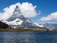 Symbolbild Kanton Wallis mit dem Matterhorn