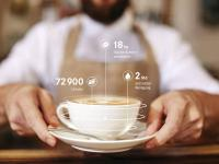 Franke Digital-Services Cup Dataoverlay / Bildquelle: Beide Franke Coffee Systems GmbH