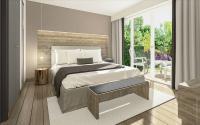 Schlafzimmer in den Appartments / Bildquelle: RM-Interiordesign