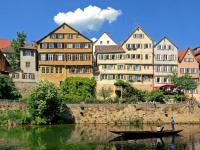 Tübingen an einem idealen Urlaubstag