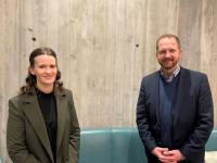 Imke Rapp und Christian Gottstein steuern seit 1. März 21 die regionalen und internationalen Verkaufs- und Marketing Aktivitäten für die Schweizer Dorint Hotels. / Bildquelle: Dorint