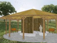 2. Sole Gradierwerk Pavillon groß