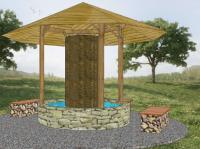 1. Sole Gradierwerk Pavillon klein, Bildquellen Weise und Partner