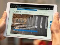 CONTI+ überzeugt mit einem neuen Internetauftritt.  / Bildquelle: Beide Bilder CONTI+
