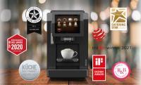 Franke A300 mit den Awards: 2021: Red Dot Award, iF Design Award, r&b Design Award für die schönsten Restaurants und Bars -Technik, Star Award Silber -Flexibility. 2020: TOP 100 Büroprodukte des Jahres 2020 - Platz 6/100, Catering Star 2020 Bronze, KÜCHE Best Product Award Silber