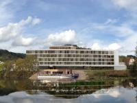 Das neue Thermenhotel der Kannewischer Collection an der Lahn gelegen. / Bildquelle: Beide 4a Architekten