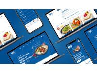 Website Mockups / Bildquelle: MILRAM Food-Service