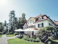 Mit einem neuen Farbkonzept in fast allen Innenbereichen überrascht das Schlossgut Oberambach oberhalb des Starnberger Sees ab 21. Mai 2021 seine Gäste / Bildquelle: Beide Schlossgut Oberambach/Robert Kittel