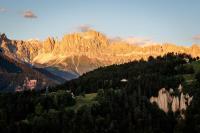 Steinegg bietet bestes Dolomiten-Panorama. / Bildquelle: Erwin Haiden