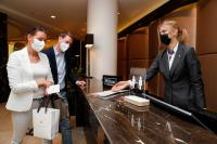 Hilton Hotels in Berlin begrüßen nach der Aufhebung der Reisebeschränkungen wieder Urlauber.