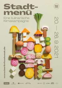 Plakat des Stadtmenüs / Bildquelle: Berlin Food Week GmbH