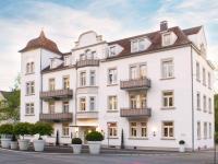 Das bekannte Premiumhotel präsentiert sich weiter als Aushängeschild der Kurstadt Bad Kissingen. / Bildquelle: Beide Romantik Hotel Laudensacks Parkhotel