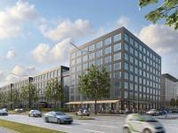 Fritz Bender Campus / Bildquelle: Fritz-Bender-Stiftung/Rendering: Harald Borowski für BHS-Architekten