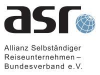 asr Allianz selbständiger Reiseunternehmen - Bundesverband e.V. Logo