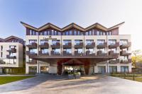 Ort des Geschehens: das Upstalsboom-Hotel auf Föhr am Wyker Südstrand