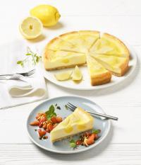 Sommerrezept Zitronen-Cheesecake