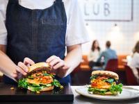 Besonders als Burger Patty eine tolle Alternative für flexitarische Gerichte / Fotorechte: Arla Pro